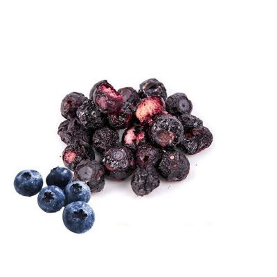 Crispy taste blueberry chips