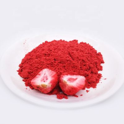 Crispy taste strawberry  powder